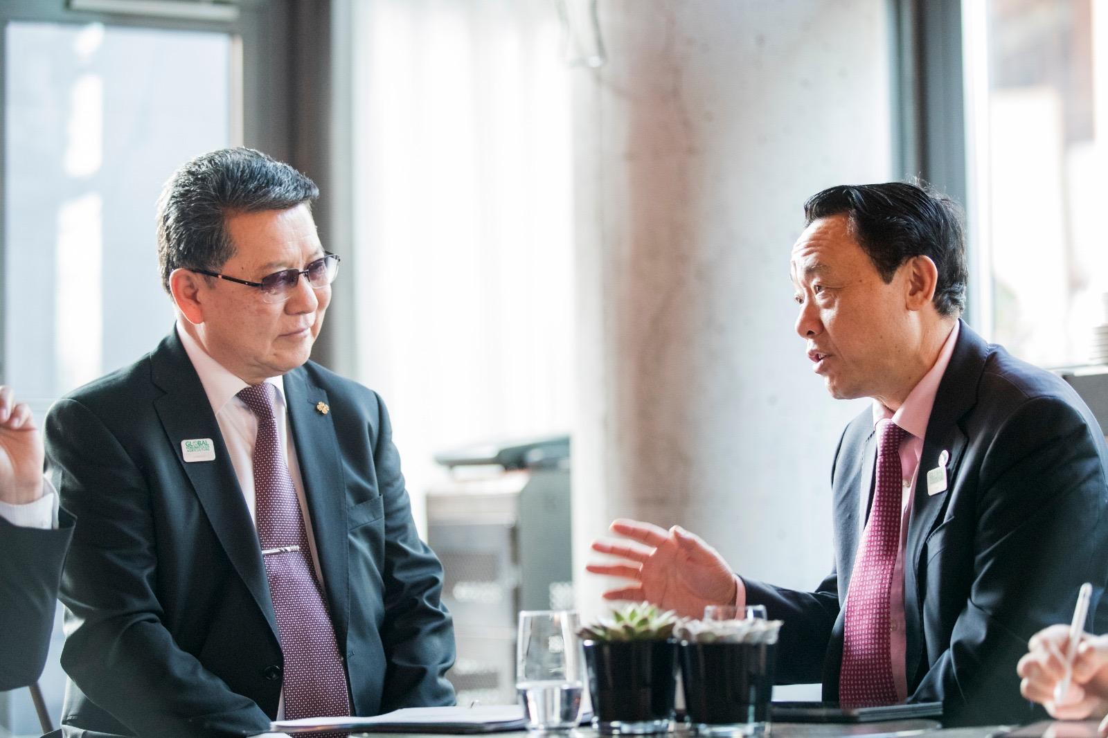 Ч.Улаан сайд НҮБ-ын Хүнс, хөдөө аж ахуйн байгууллагын Ерөнхий захирал Чю Донг Юү-тэй уулзлаа