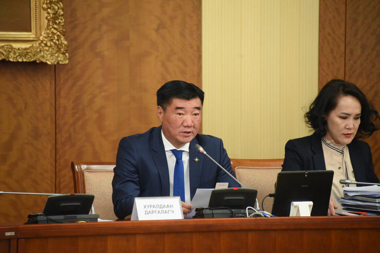 """""""Монгол Улсын Их Хурлын 2020 оны хаврын ээлжит чуулганаар хэлэлцэх асуудлын тухай"""" Улсын Их Хурлын тогтоолын төслийг хэлэлцлээ"""