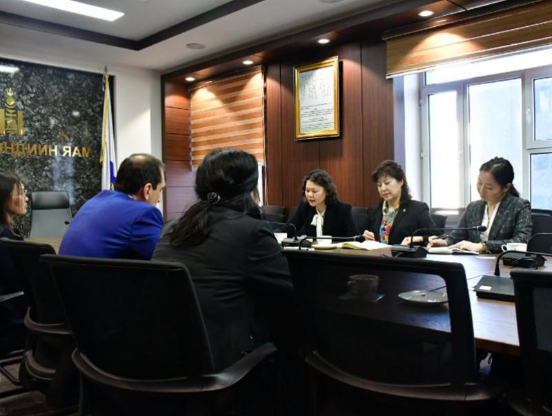 Д.Сарангэрэл сайд Дэлхийн банкны Монгол Улс дахь Суурин төлөөлөгчийг хүлээн авч уулзлаа