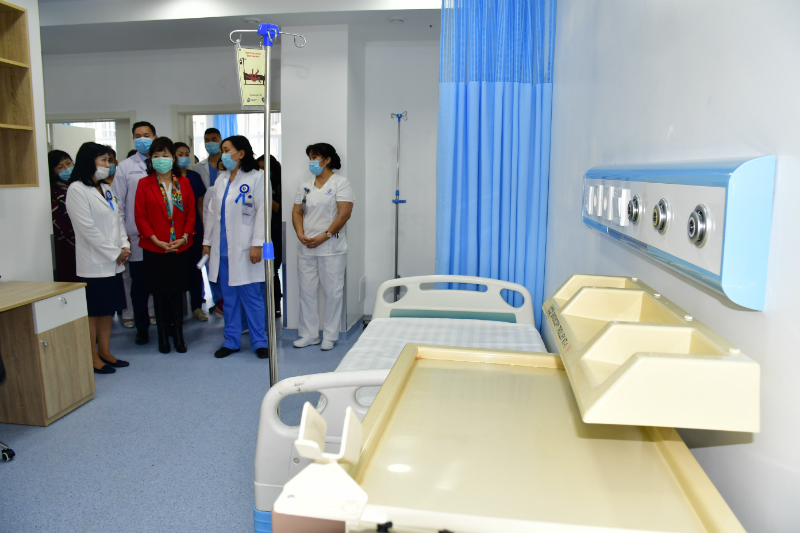 Улсын Нэгдүгээр төв эмнэлгийн Гастроэнтерологийн дурангийн тасгийг шинэчлэв