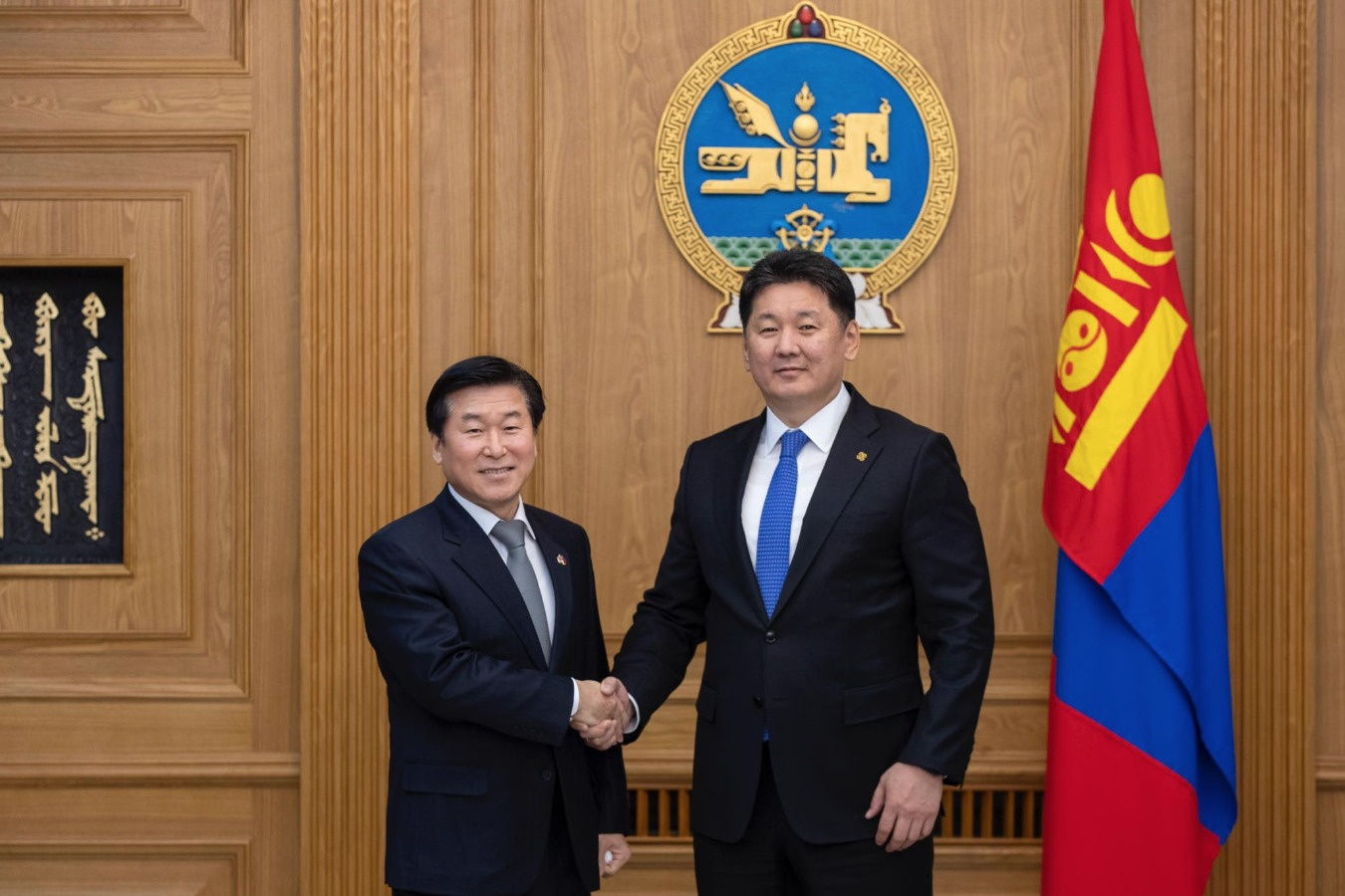 Ерөнхий сайд У.Хүрэлсүх БНСУ-аас Монгол Улсад суугаа Элчин сайдыг хүлээн авч уулзав
