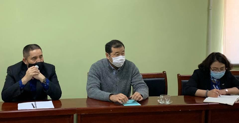 Булган аймгийн ХАА-н газрын хамт олонтой уулзлаа