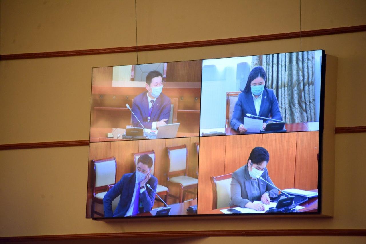 Монгол Улсын Их Хурлын тухай хуулийн шинэчилсэн найруулгын төслийг хэлэлцлээ
