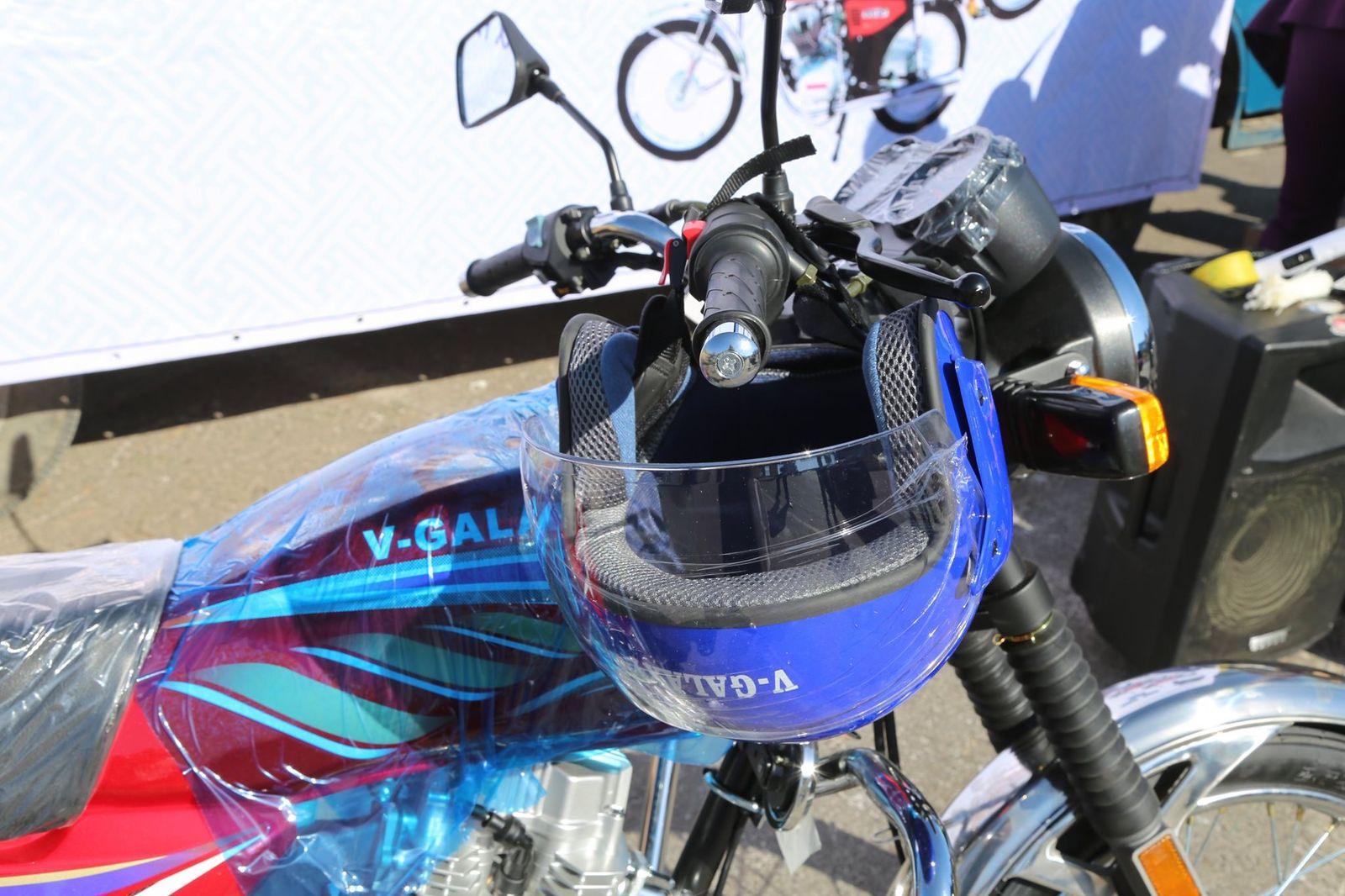 331 сумын мал эмнэлгийн албаны төлөөлөл мотоциклтой болов