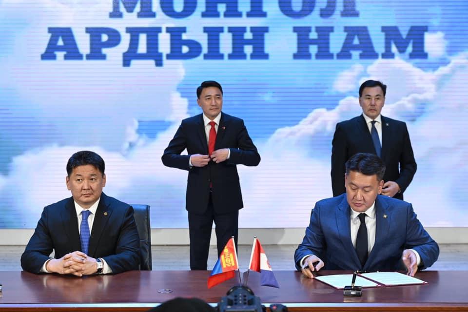 Монгол ардын нам нэр дэвшигчидтэйгээ хариуцлагын гэрээ байгууллаа