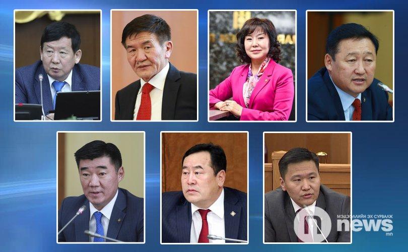 Монгол төрийн манлай түшээгээр ДОЛООН гишүүнийг нэрлэлээ