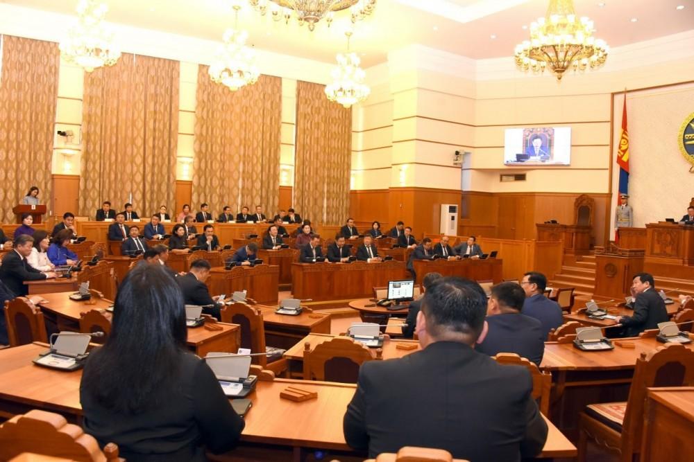 Монгол Улсын Засгийн газрын бүтэц, түүнд оруулах өөрчлөлтийг тухай хуулийн төслийг хэлэлцлээ