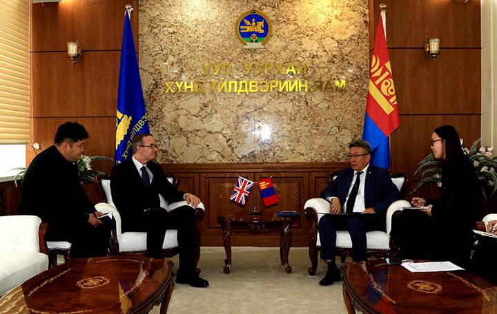 Монгол Улс ИБУИНВУ-ын харилцаа, хамтын ажиллагаа уул уурхайн салбарт өргөжин хөгжинө