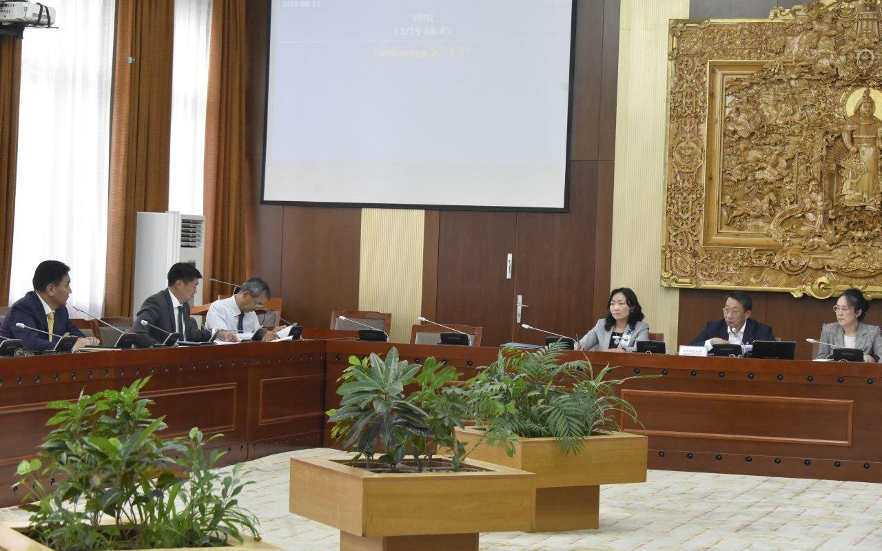 Монгол Улсыг 2021-2025 онд хөгжүүлэх таван жилийн үндсэн чиглэлийг батлах тухай тогтоолын төслийг анхны хэлэлцүүлгийг хийлээ