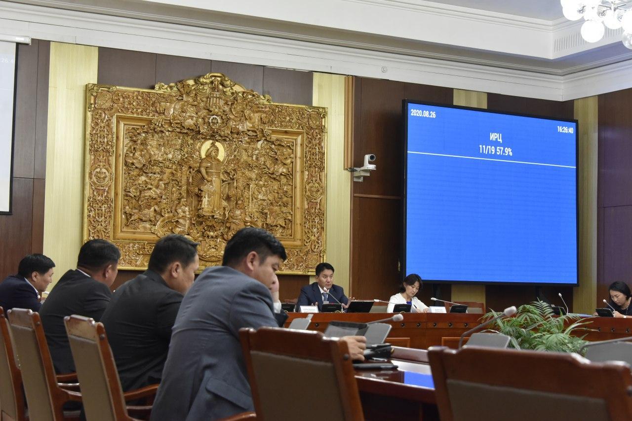 """""""Монгол Улсыг 2021-2025 онд хөгжүүлэх таван жилийн үндсэн чиглэлийг батлах тухай"""" Улсын Их Хурлын тогтоолын төслийн анхны хэлэлцүүлгийг хийлээ"""