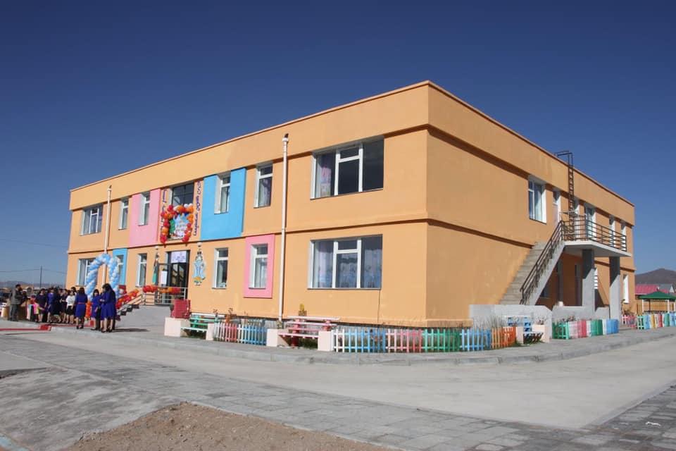 Хөвсгөл аймгийн Мөрөн суманд 150 хүүхдийн цэцэрлэг ашиглалтанд орлоо