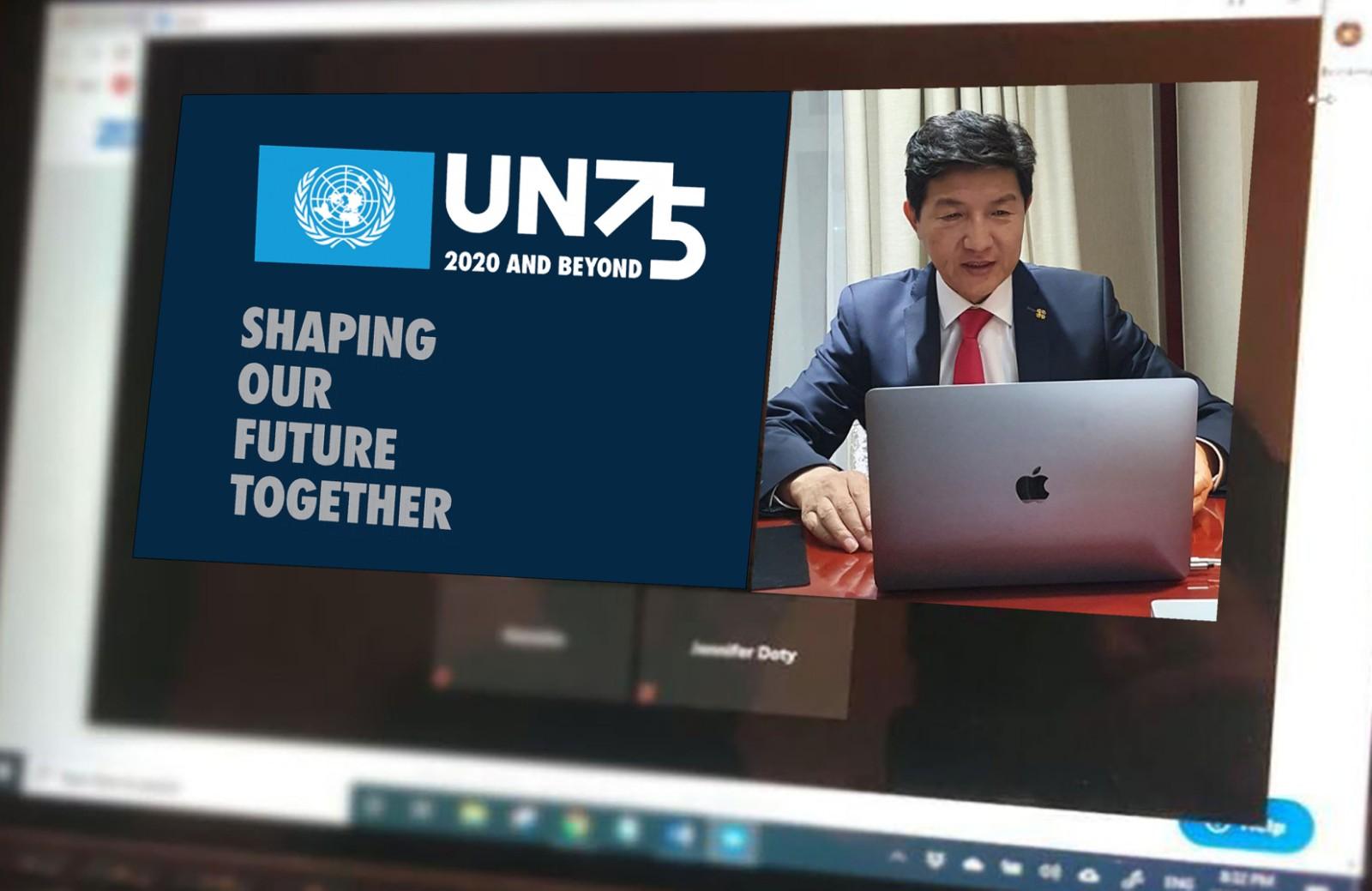 НҮБ-д Монгол Улс гишүүнээр элссэн нь Монголын түүхэн дэх хамгийн том үйл явдлуудын нэг мөн