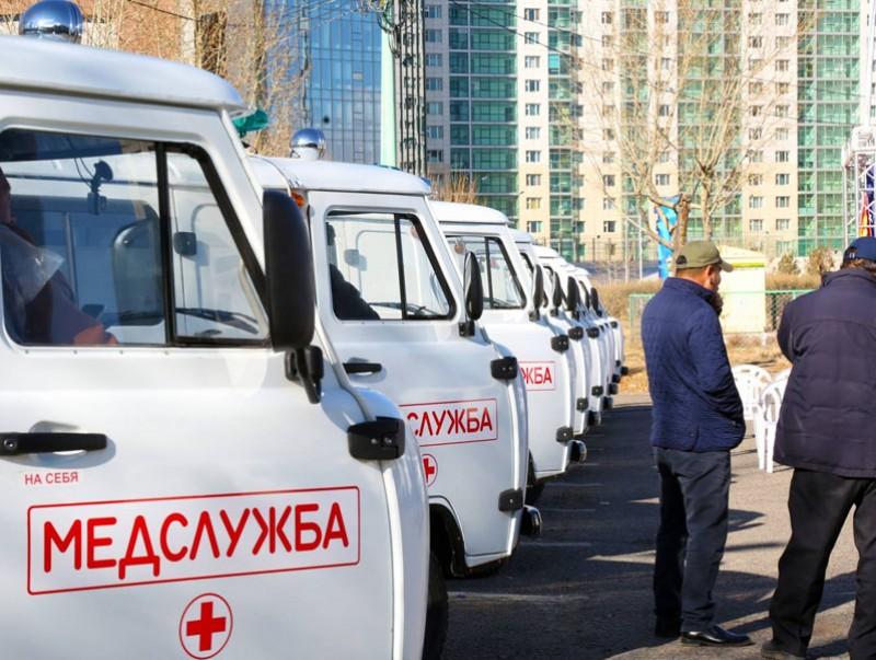 Улсын тусгай хамгаалалттай 16 сум иж бүрэн тоноглогдсон түргэн тусламжийн автомашинтай боллоо