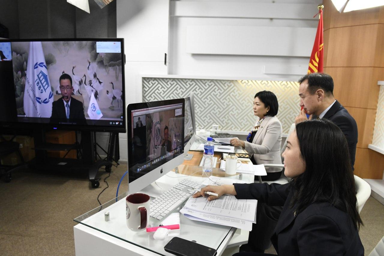 ОУПХ-ны Удирдах зөвлөлийн 206 дугаар ээлжит бус цахим хуралдаан эхэллээ