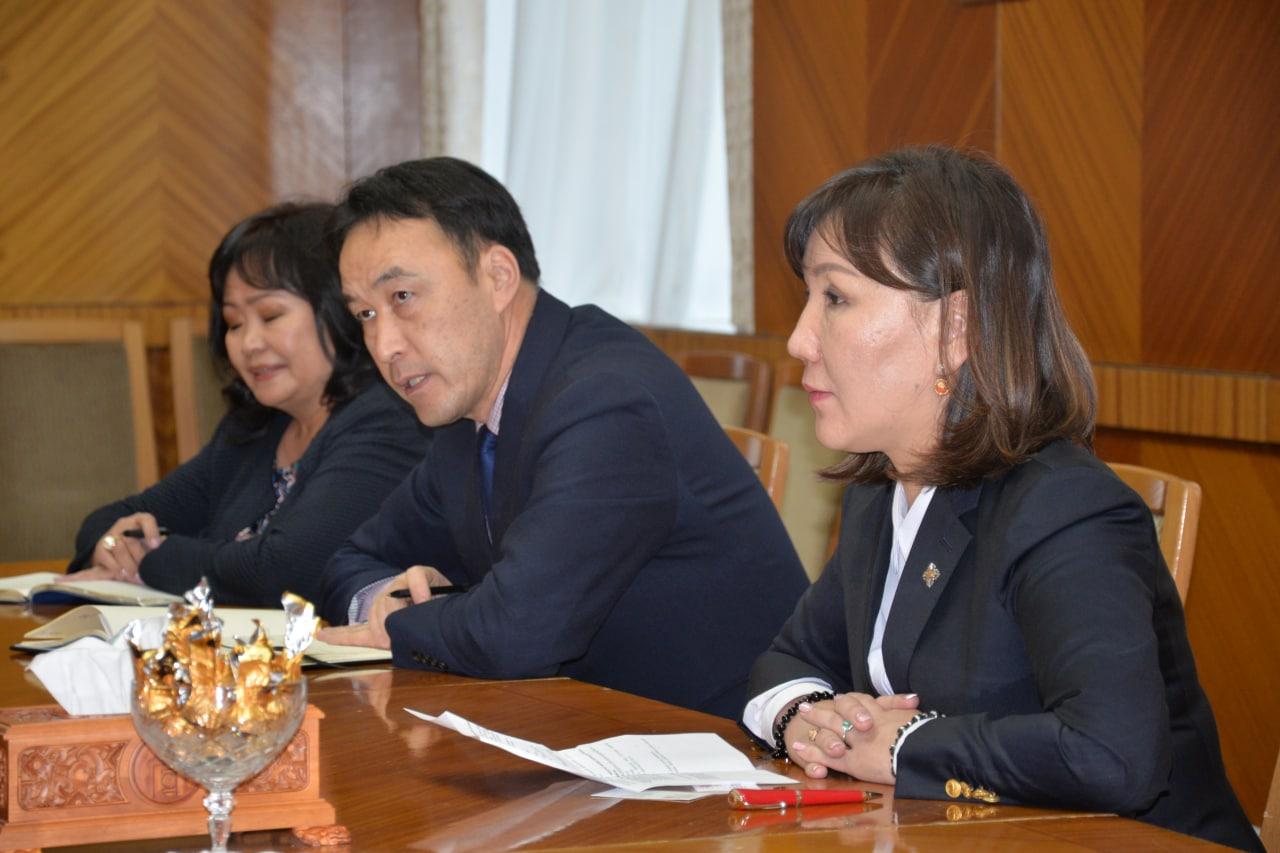УИХ-ын гишүүн М.Оюунчимэг НҮБ-ын Хүн амын сангийн Суурин төлөөлөгчтэй уулзлаа