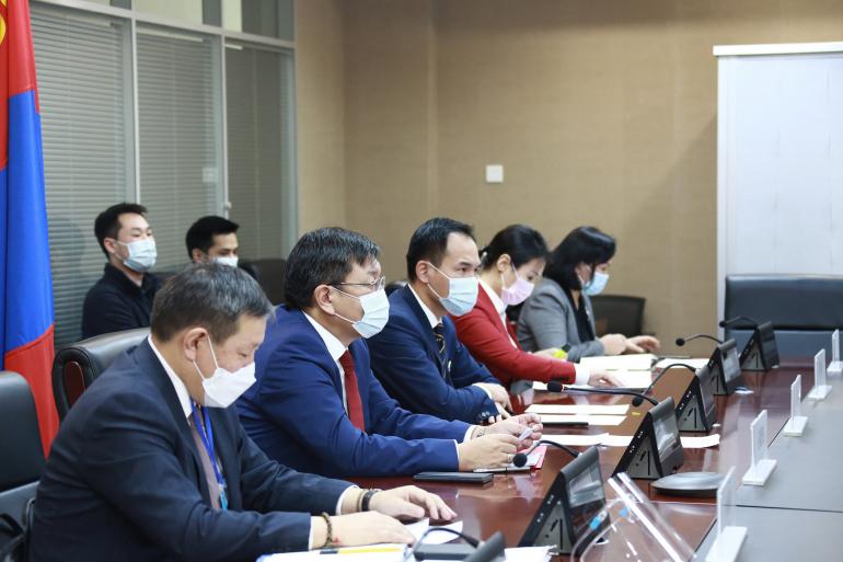 Монгол, Хятадын засгийн газар хоорондын комиссын ээлжит хуралдаан хийлээ