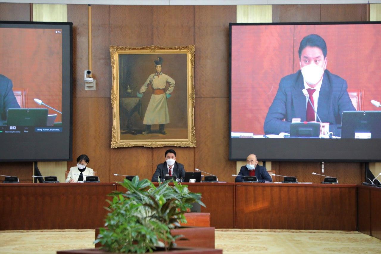ЭЗБХ: Эрдэнэсийн сангийн тухай хуулийн шинэчилсэн найруулгын төслийг хэлэлцэхийг дэмжлээ