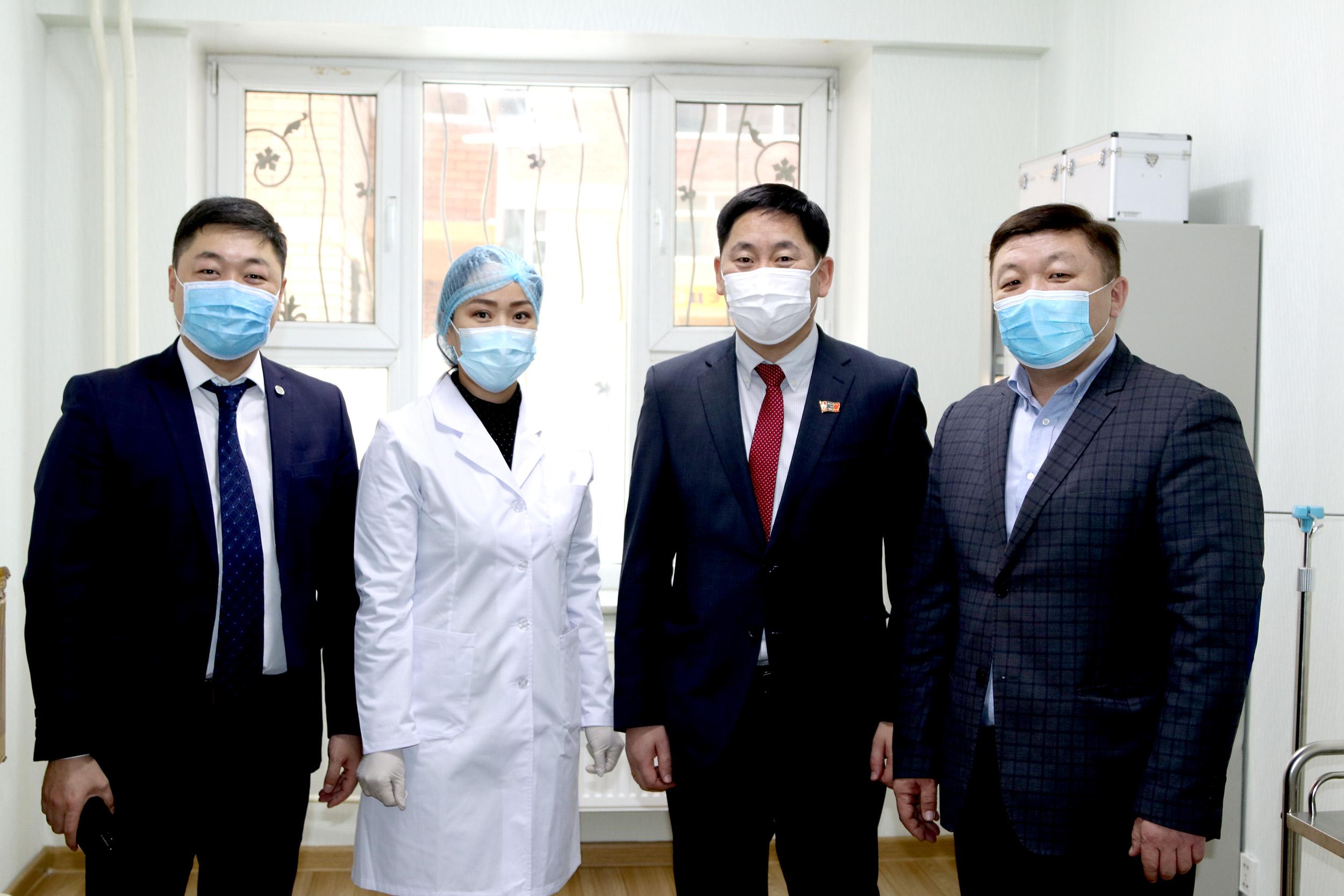 Баянгол дүүргийн гуравдугаар хороонд өрхийн салбар эмнэлэг нээгдлээ