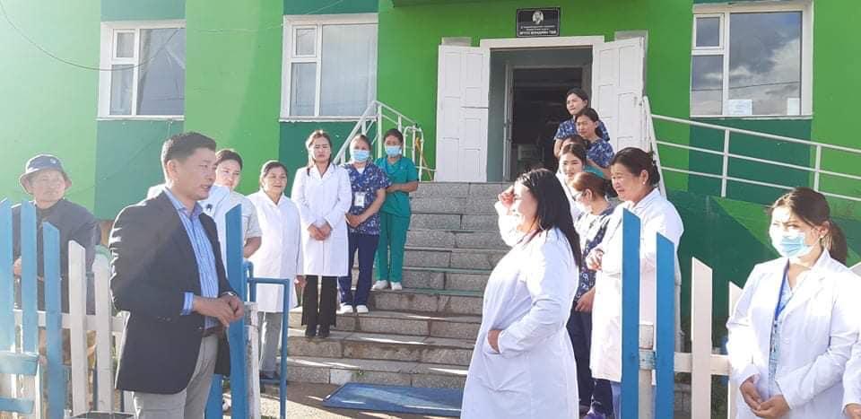 Архангай аймгийн нэгдсэн эмнэлэг PCR шинжилгээний иж бүрэн тоног төхөөрөмжтэй боллоо