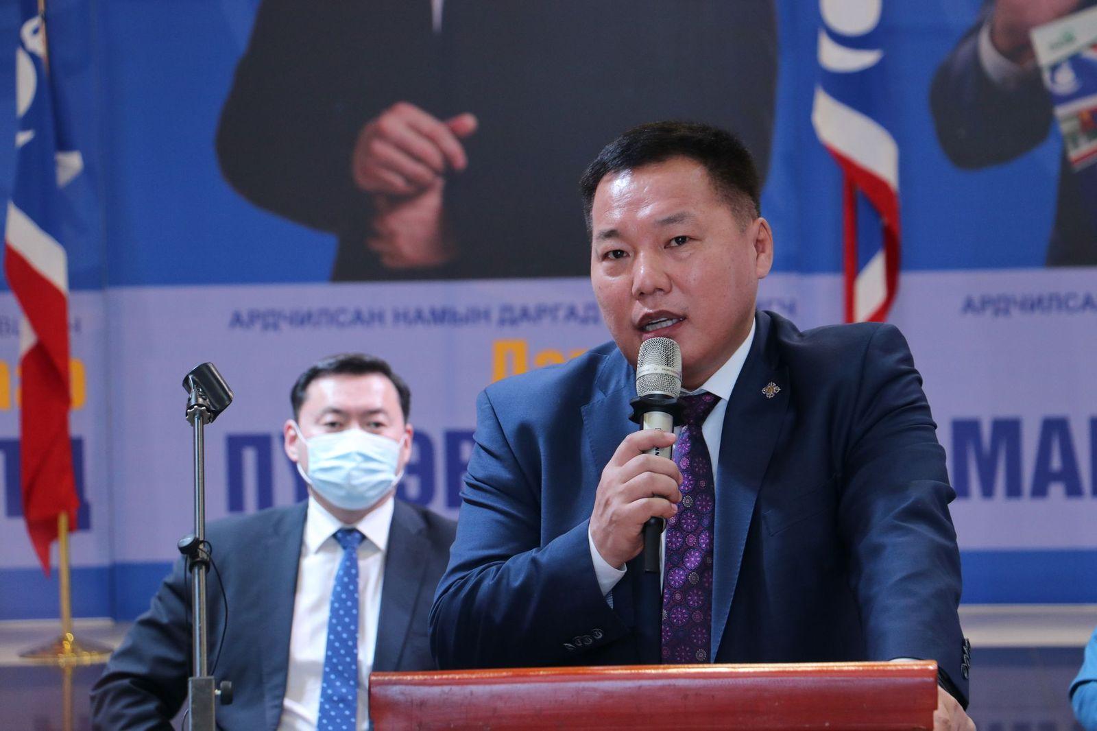 АН-ын даргын сонгуульд нэр дэвшигчид Говь-Алтай, Говьсүмбэр, Баян-Өлгий аймгийн гишүүд, дэмжигчидтэй цахимаар уулзлаа