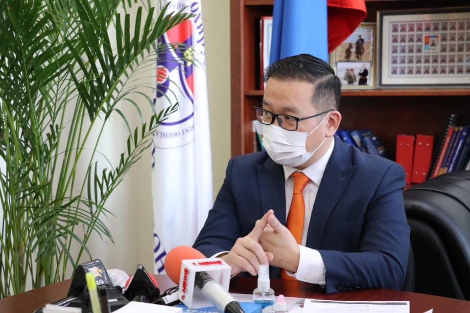 ШӨХТГ-ын дарга Б.Бат-Эрдэнэ Монголын Залуучуудын Холбооны Ерөнхийлөгчтэй уулзлаа.