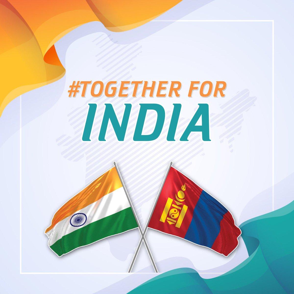 """""""Together For India"""" хандивын аянаар цугласан 99 сая төгрөгийг Энэтхэгийн Ерөнхий сайдын санд шилжүүлжээ"""