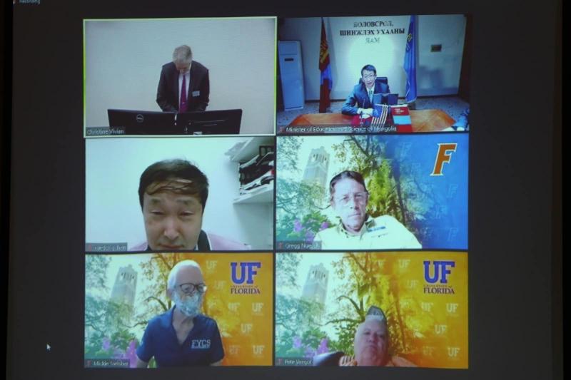 ХААИС-ийн оюутнууд АНУ-ын Флоридагийн Их сургуульд суралцах боломжтой боллоо