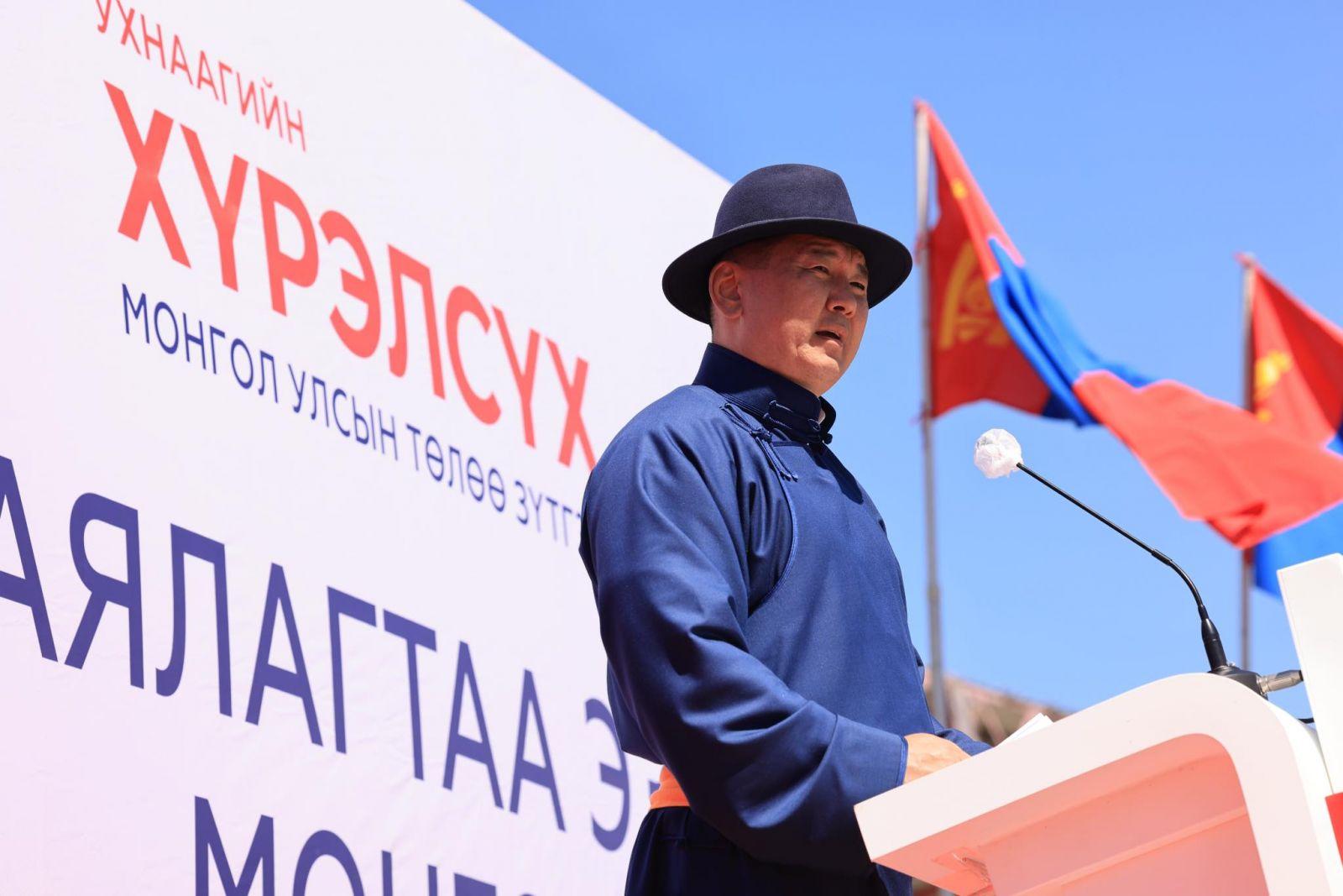 Нэр дэвшигч У.Хүрэлсүх Завхан, Говь-Алтай аймгийн иргэд, сонгогчидтой уулзлаа