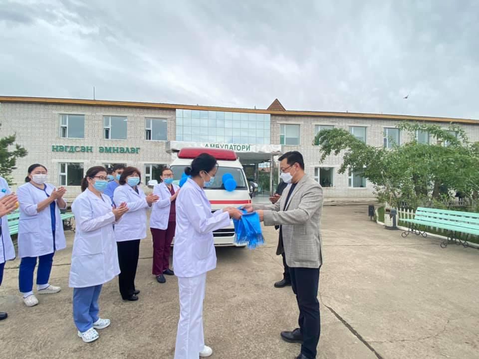Мандал сумын Нэгдсэн эмнэлэг иж бүрэн тоноглогдсон тусгай зориулалтын авто машинтай боллоо