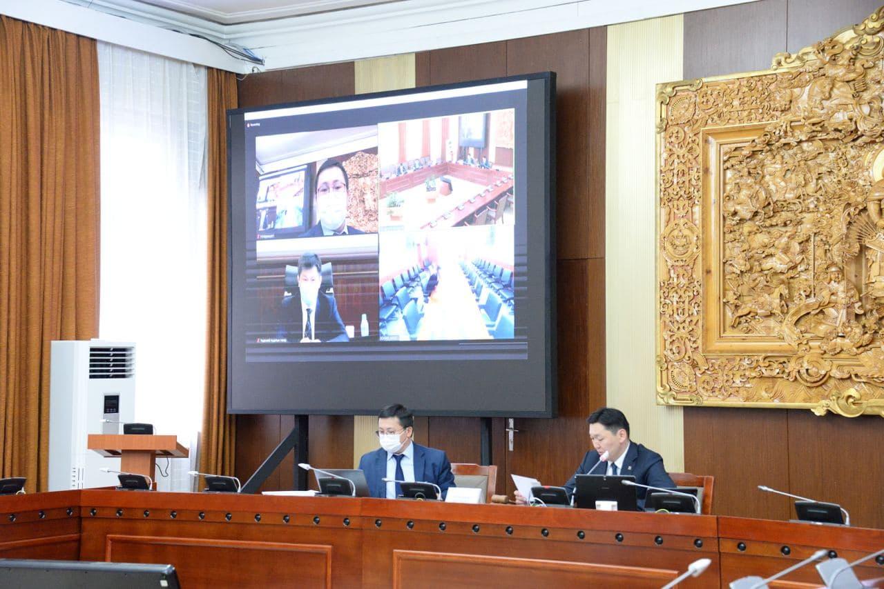 """""""Монгол Улсын 2020 оны төсвийн гүйцэтгэлийг батлах тухай"""" Монгол Улсын Их Хурлын тогтоолын төслийн хоёр дахь хэлэлцүүлгийг хийв"""