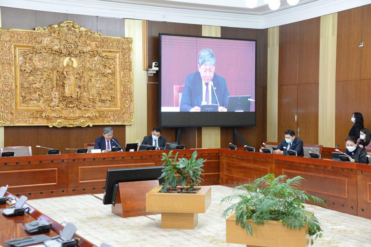 2022- 2023 оны төсвийн төсөөллийн тухай хуульд өөрчлөлт оруулах тухай хуулийн төслийг хэлэлцлээ