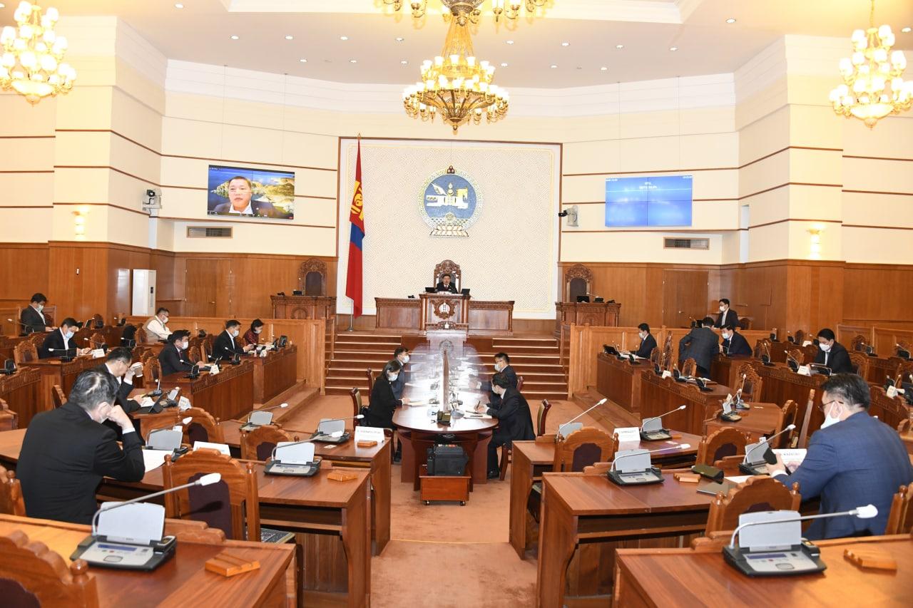 Улсын Их Хурлын хяналт шалгалтын нэгдмэл, цогц байдлыг хангах хуулийг хэлэлцэж байна