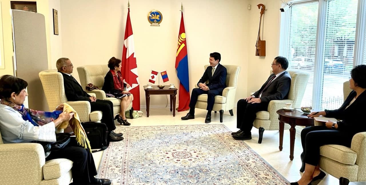 УИХ-ын гишүүн, Монгол-Канадын парламентын бүлгийн дарга Г.Дамдинням Канад Улсад ажиллалаа