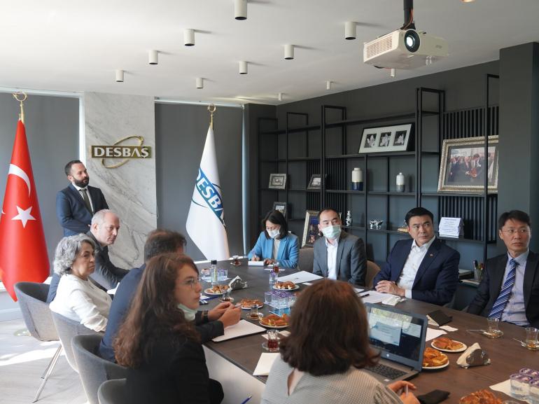 Шадар сайд С.Амарсайхан Истанбул дахь Десбаш чөлөөт бүсийн захиргаатай хамтран ажиллахаар ярилцлаа