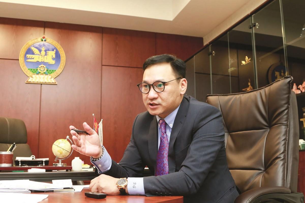 Б.Ганхуяг: Монгол Улсын эдийн засаг, санхүүгийн ҮНДЭС МОД нь Эрдэнэс Тавантолгой