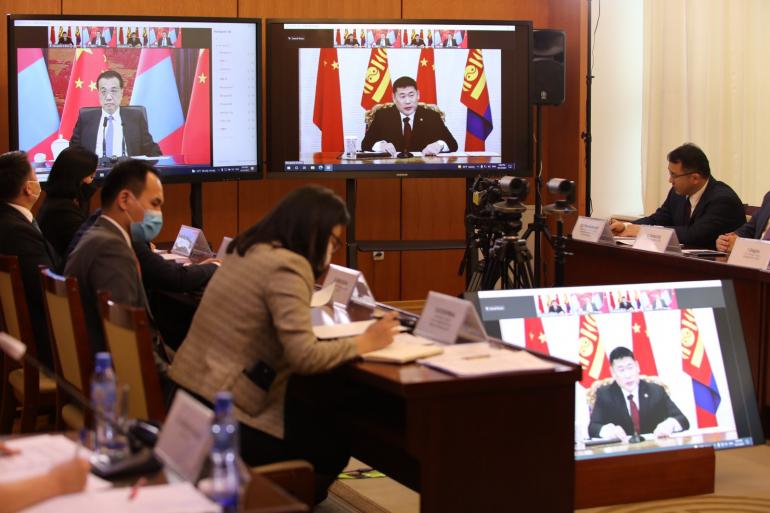 Ерөнхий сайд Л.Оюун-Эрдэнэ БНХАУ-ын Төрийн зөвлөлийн Ерөнхий сайд Ли Көчянтай цахим уулзалт хийв